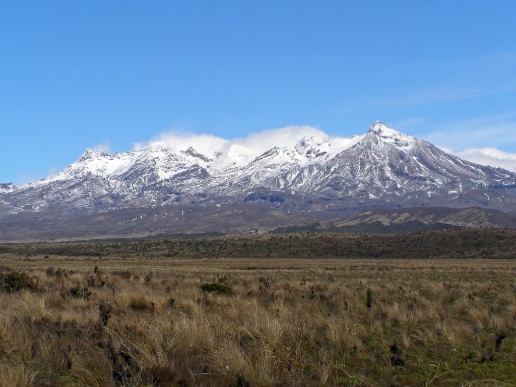 National Park, Tongariro, and Mt Ruapehu